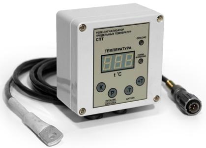 Реле-сигнализатор предельной температуры СПТ со счетчиком моточасов